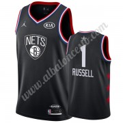 Camisetas NBA Baratas Brooklyn Nets 2019 Dangelo Russell 1# Negro All Star Game Swingman..